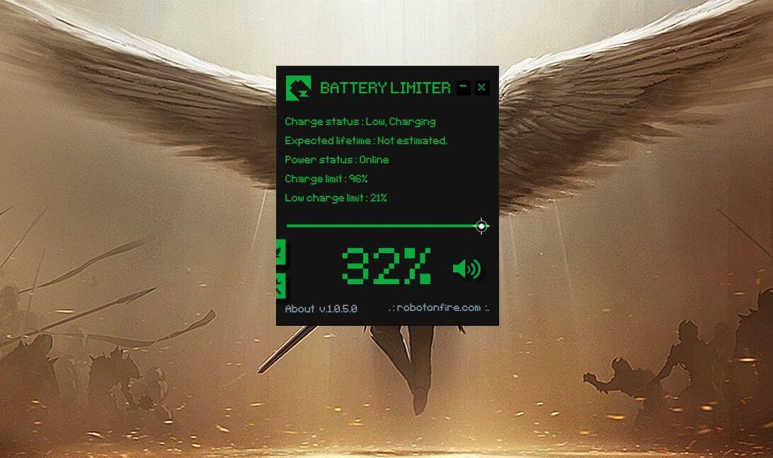 Limitador de batería
