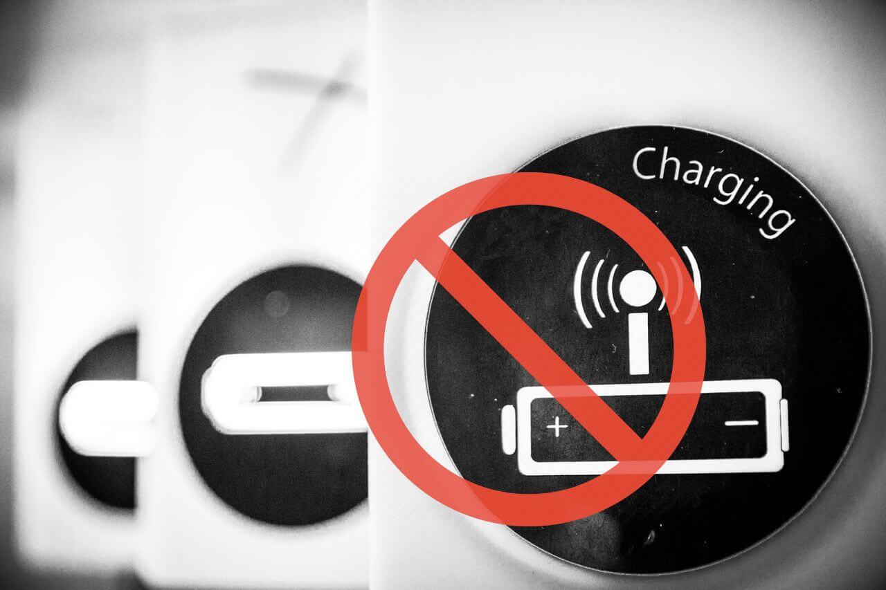 Deje de cargar las baterías del portátil