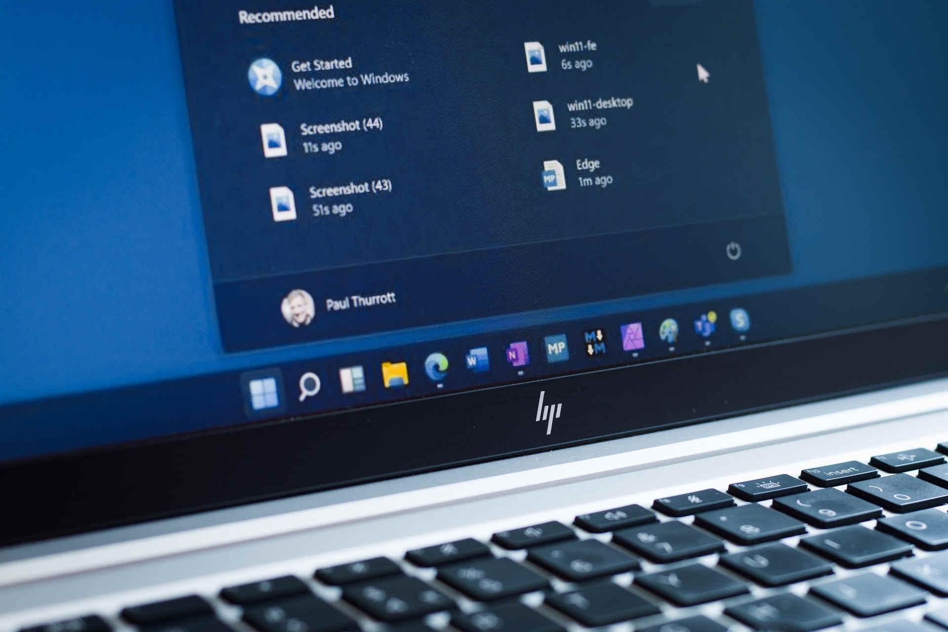 Administrar la barra de tareas de Windows 11
